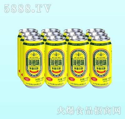 鑫锐青菠萝味碳酸饮料500ml(多罐)
