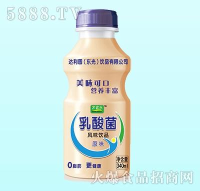 万君乐乳酸菌风味饮料原味340ml