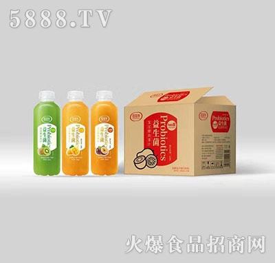花花牛益生菌发酵复合果汁饮料