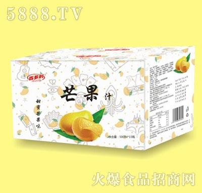 百多利芒果汁500mlX15
