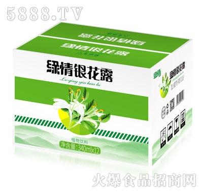 缘情银花露植物饮料340mlX12