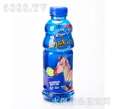 八星食品维生素果味饮料青柠口味600ml