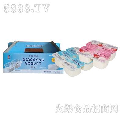 侨港酸奶100gX6杯
