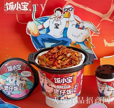 饭小宝十三香鸭鸭自热煲仔饭