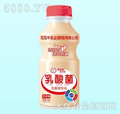 花花牛乳酸菌饮品草莓味330ml