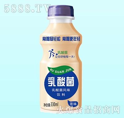 乳酸菌风味饮品原味340ml(单瓶)