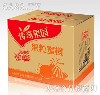 传奇果园果粒橙味饮料2.5LX6