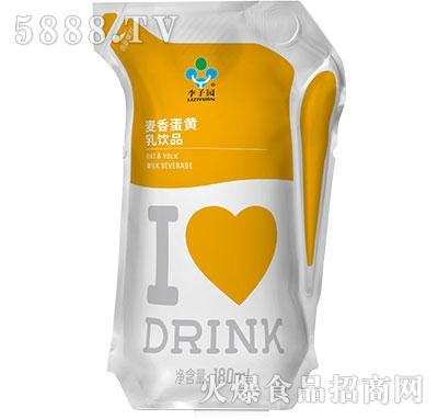 李子园麦香蛋黄乳饮料180毫升