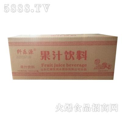 纤乐源果汁饮料250mlX24