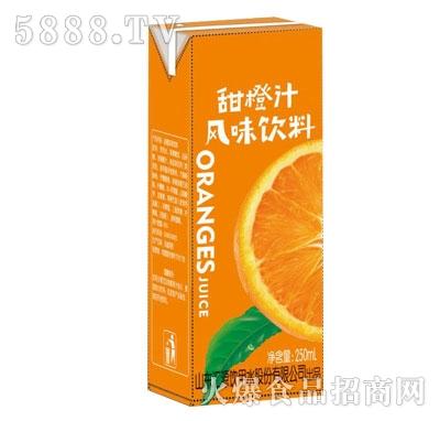 纤乐源甜橙汁250ml
