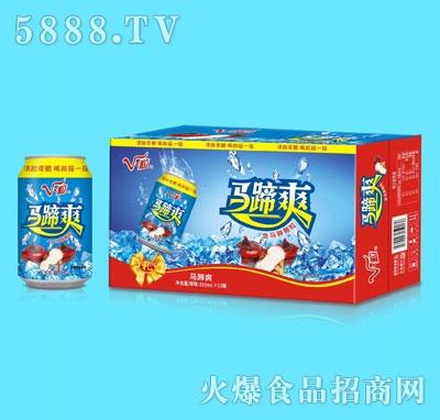 V・粒马蹄爽荸荠饮料310mlx12罐