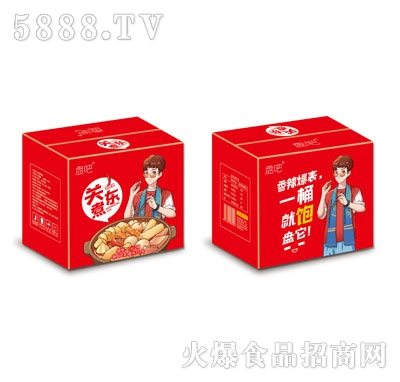 盘吧关东煮香辣味(箱)产品图