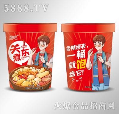 盘吧关东煮香辣味168g产品图