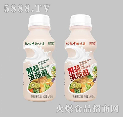 养芯多果蔬乳酸菌饮品340ml
