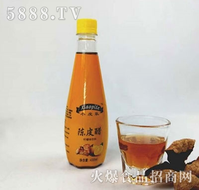 小皮乐陈皮醋柠檬味饮料430ml