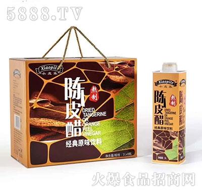 小皮乐陈皮醋经典原味饮料1L×8瓶