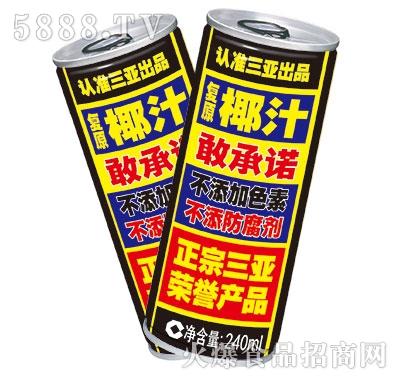 望花谭椰子汁高罐240ml