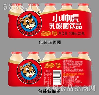 小帅虎原味乳酸菌瓶