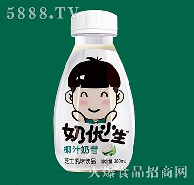 玉川果先生奶油小生椰汁奶昔380ml