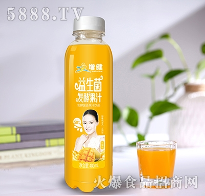 增健益生菌发酵果汁芒果味480ml