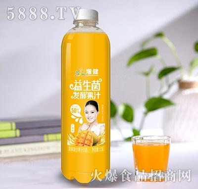 增健益生菌发酵果汁芒果味1.5L
