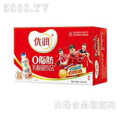 优润乳酸菌饮品340gX12