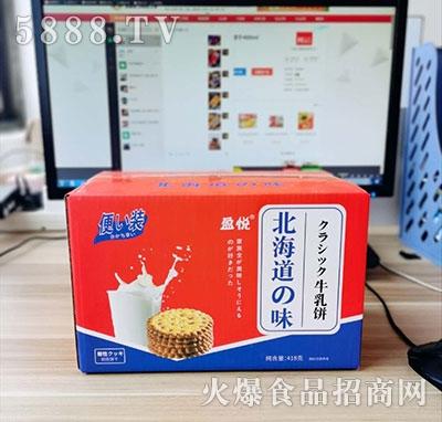 盈悦北海道味牛乳饼418g