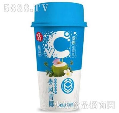 仙草凉凉泰风青椰奶茶285g
