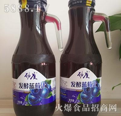 劲度发酵蓝莓汁1.5L