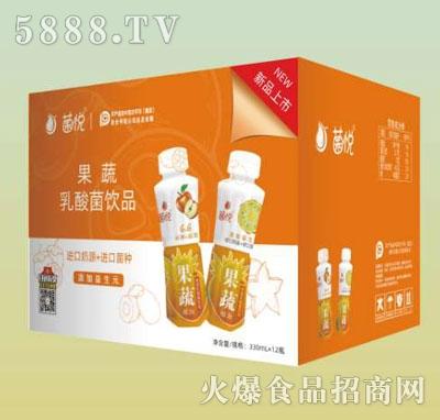 菌悦果蔬乳酸菌饮品330mlX12