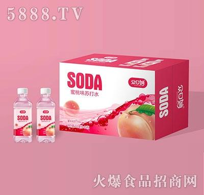 �口妙蜜桃味�K打�料350ml×24瓶