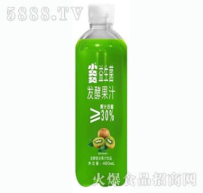 小臭臭益生菌发酵复合果汁猕猴桃味480ml