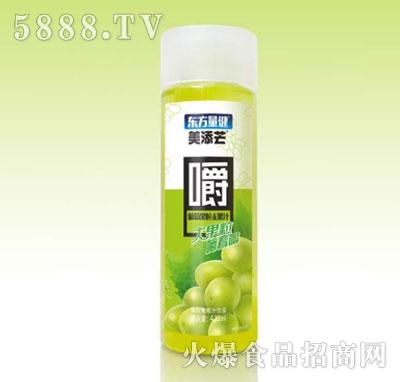 美添芒葡萄果粒果汁420ml