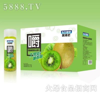 美添芒猕猴桃果粒果汁420mlX15
