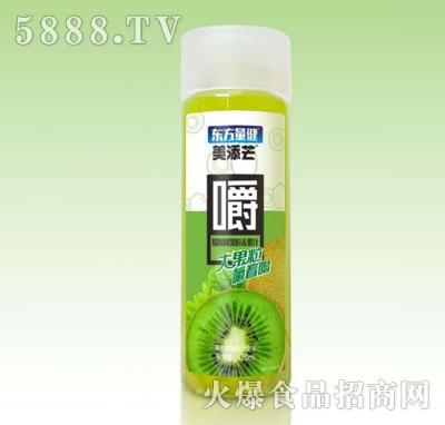 美添芒猕猴桃果粒果汁420ml