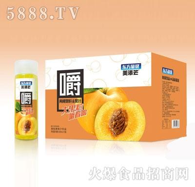 美添芒黄桃果粒果汁420mlX15