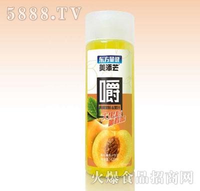 美添芒黄桃果粒果汁420ml