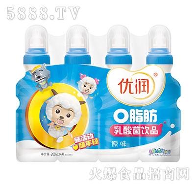 优润乳酸菌原味200mlx4