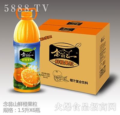 念翁山鲜橙果粒果汁1.5Lx6