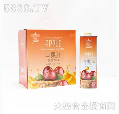 加满多苹果汁果汁饮料956mlx6瓶