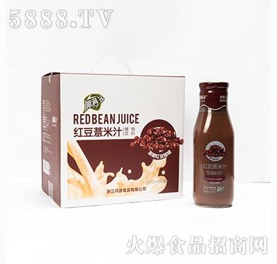 加满多红豆薏米汁植物饮料910mlx6瓶