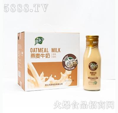加满多燕麦牛奶含乳饮料910mlx6瓶