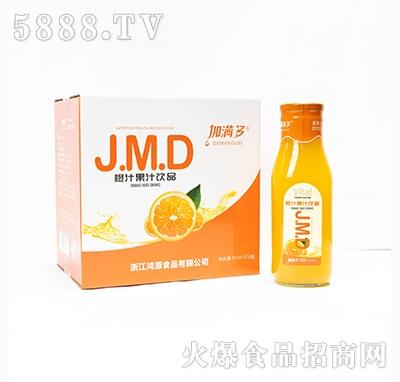 加满多橙汁果汁饮料910mlx6瓶