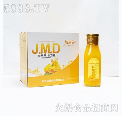 加满多芒果果汁饮料910mlx6瓶