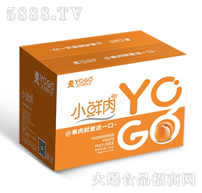 小鲜肉500mlx15瓶黄桃粒果汁饮品