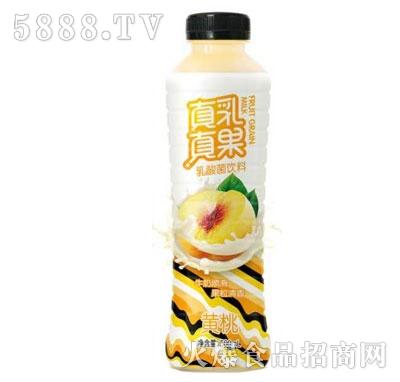 真乳真果乳酸菌饮料黄桃味