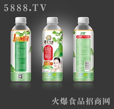 增健果茶先生益生菌果茶味饮品青梅味600ml