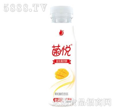 菌悦益生菌发酵果粒酸奶芒果味