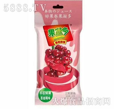 果凝多果粒维卷蔓越莓味30g产品图