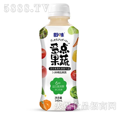舒味多�c果蔬果蔬乳酸菌340ml�a品�D